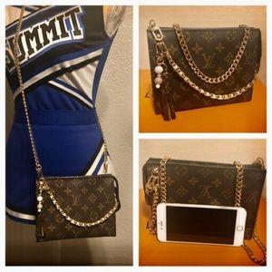 🌺Auth Louis Vuitton Pouch 19/Crossbody Bag